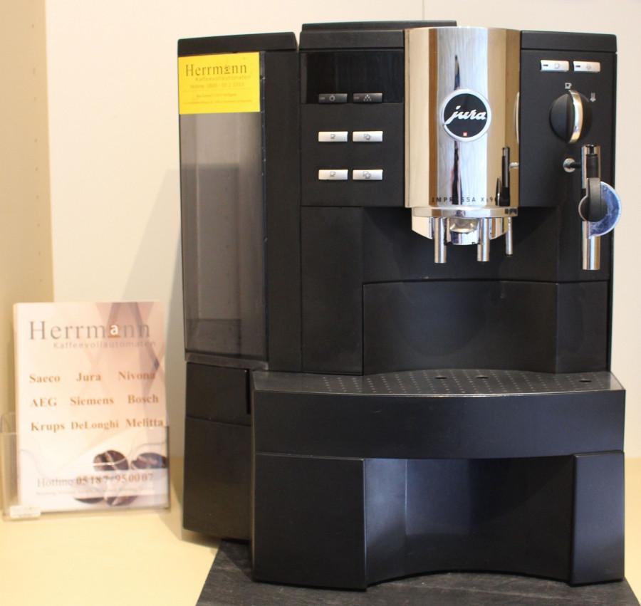 jura impressa xs 90 herrmann kaffeevollautomaten. Black Bedroom Furniture Sets. Home Design Ideas